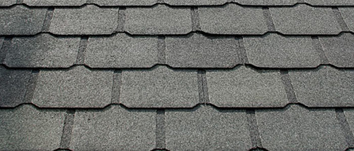 Luxury asphalt shingle roof