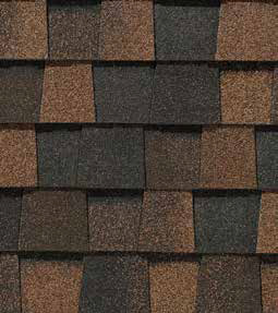 Max def burnt sienna shingle color
